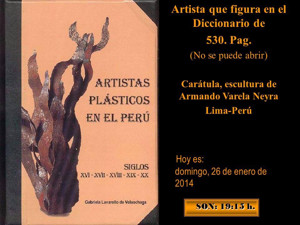 Artista que figura en el Diccionario de 530. Pag.
