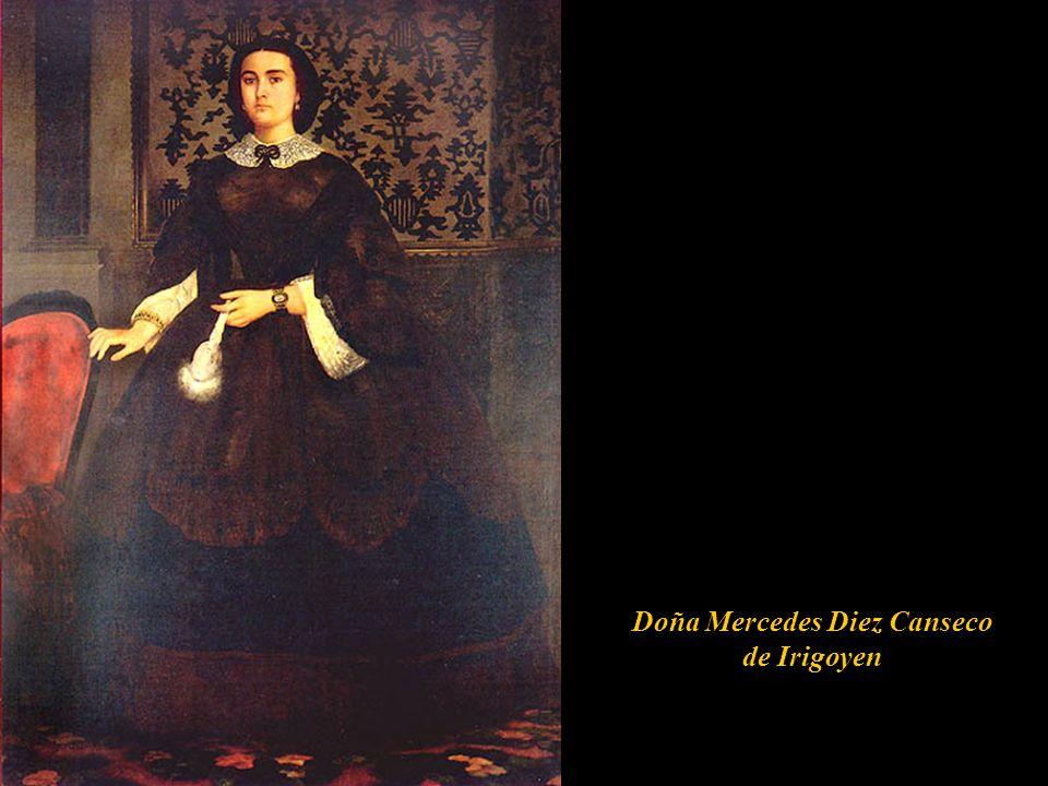 Doña Mercedes Diez Canseco de Irigoyen