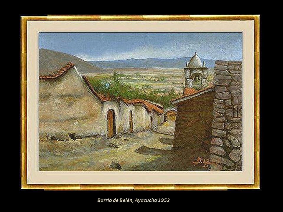 Barrio de Belén, Ayacucho 1952