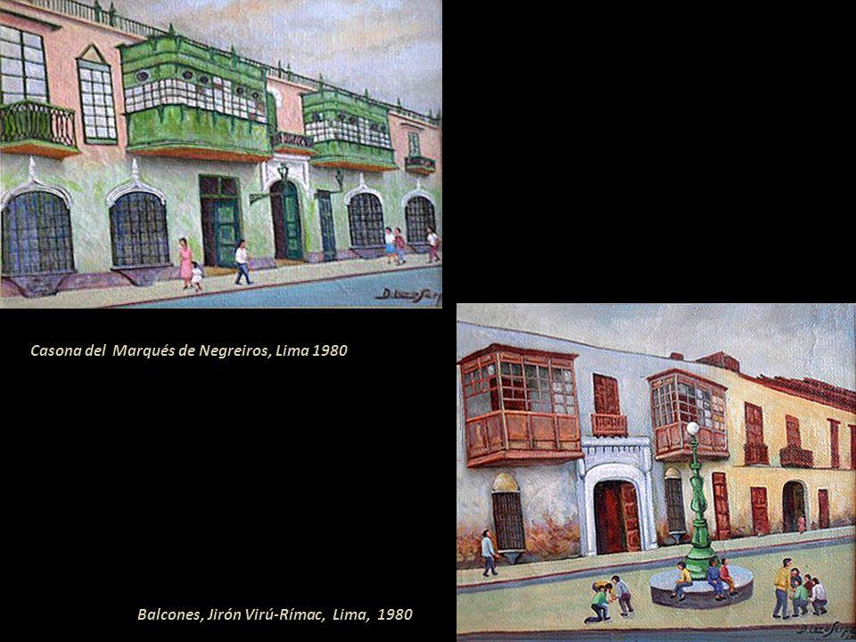 Casona del Marqués de Negreiros, Lima 1980