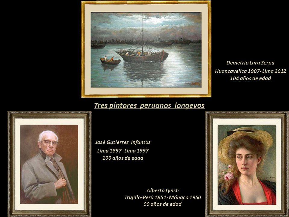 Tres pintores peruanos longevos