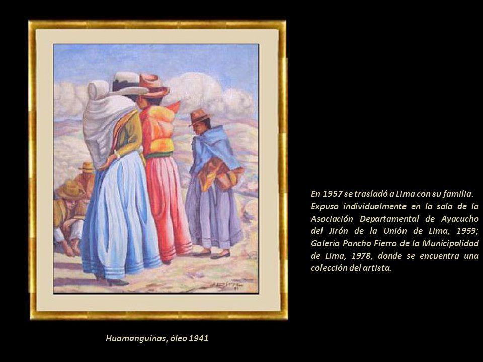 En 1957 se trasladó a Lima con su familia.