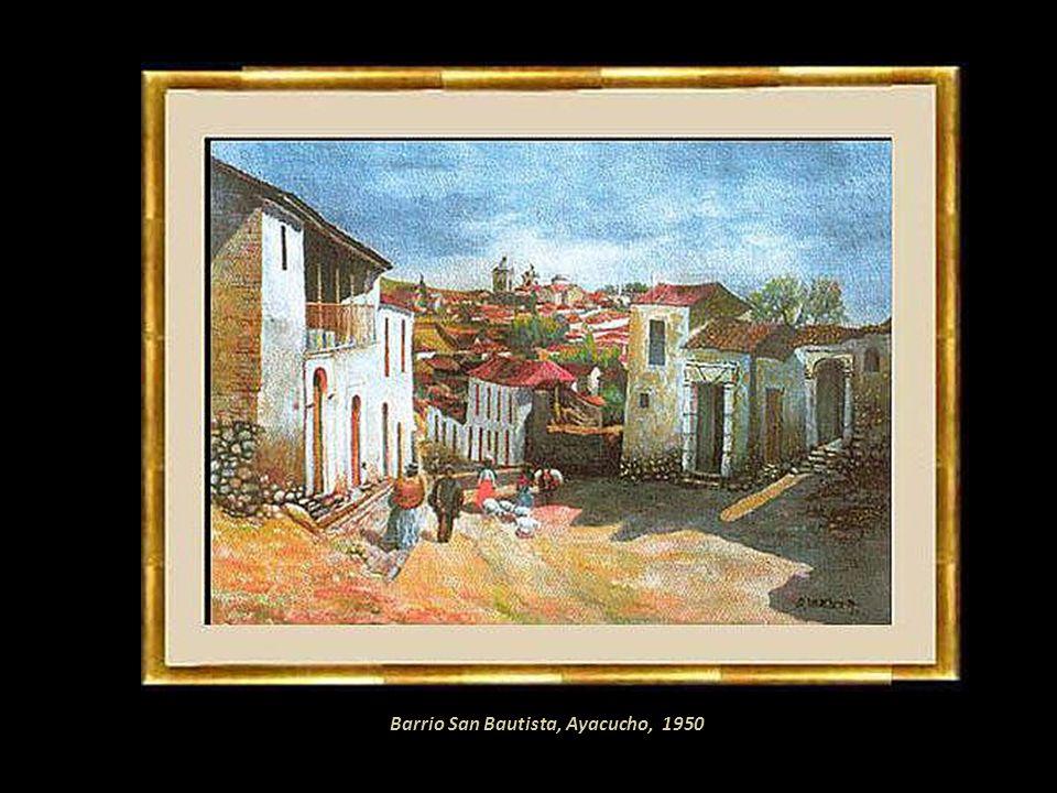 Barrio San Bautista, Ayacucho, 1950