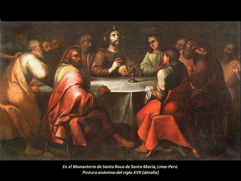 En el Monasterio de Santa Rosa de Santa María, Lima-Perú