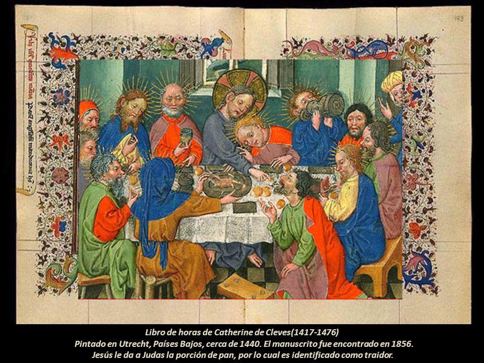Libro de horas de Catherine de Cleves(1417-1476) Pintado en Utrecht, Países Bajos, cerca de 1440.