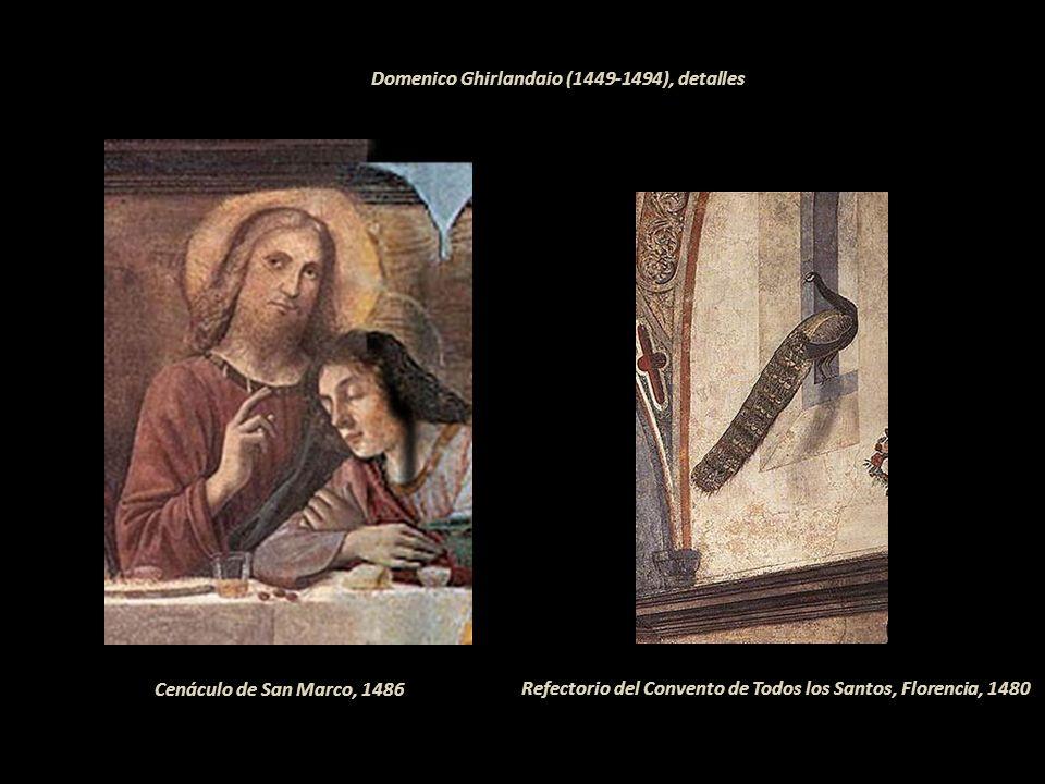 Domenico Ghirlandaio (1449-1494), detalles
