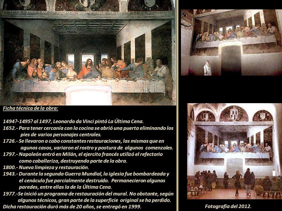 Ficha técnica de la obra: 1494. -1495