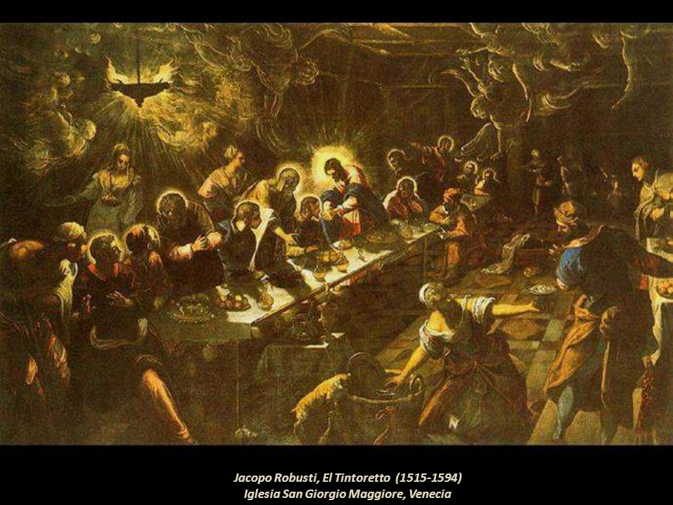 Jacopo Robusti, El Tintoretto (1515-1594)