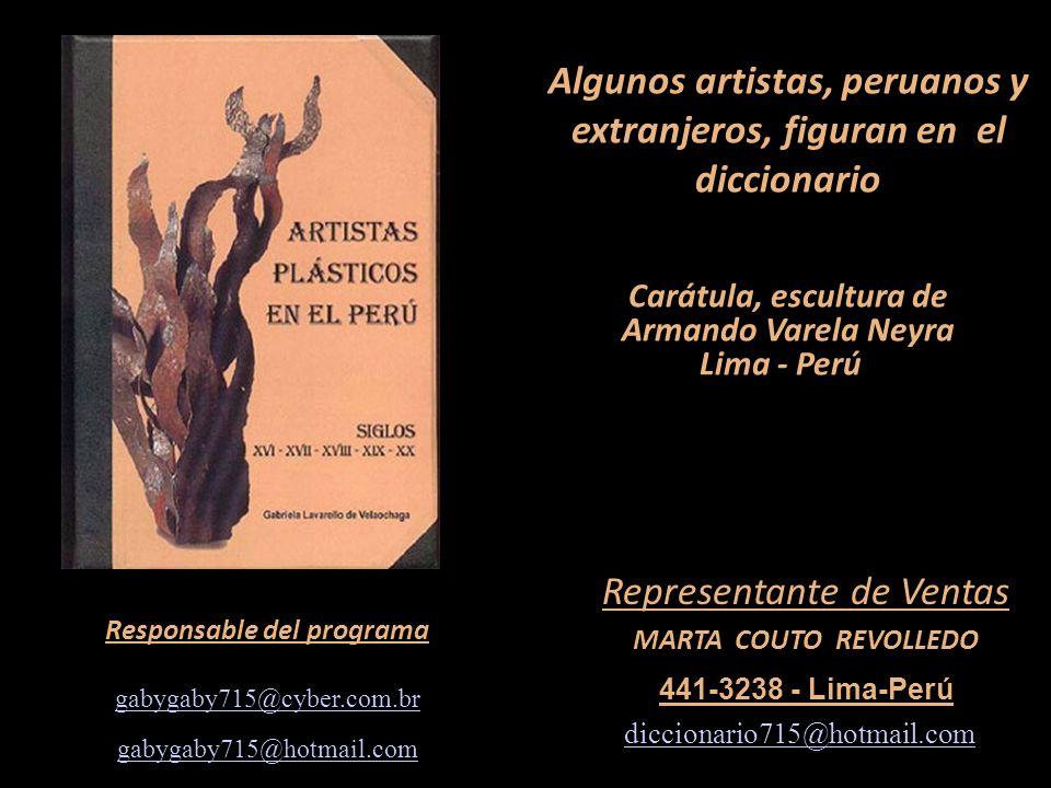 Carátula, escultura de Armando Varela Neyra Lima - Perú