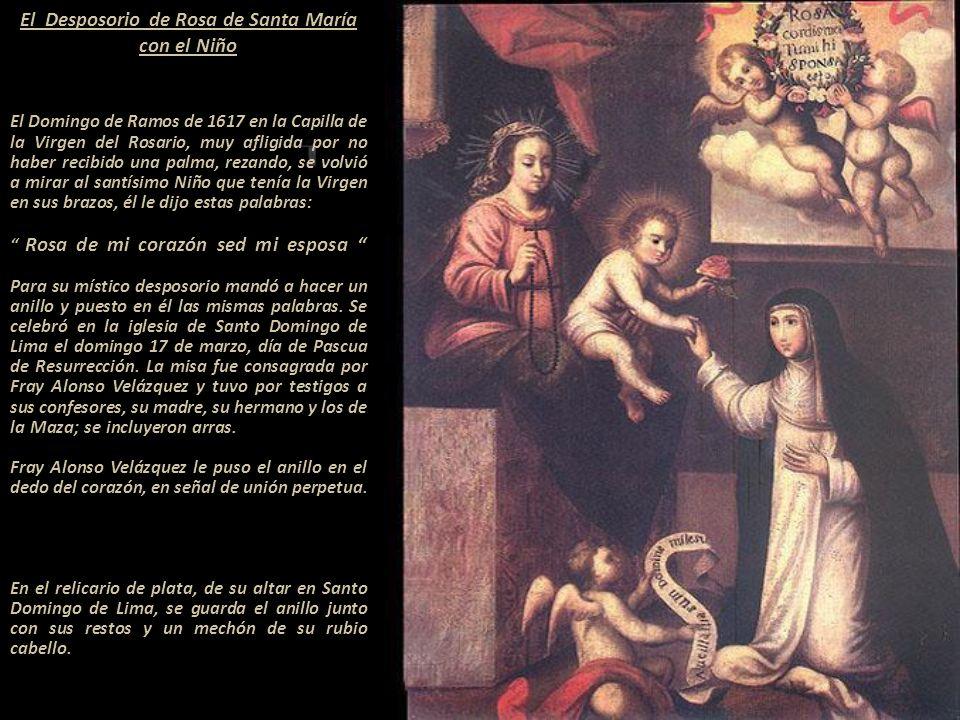 El Desposorio de Rosa de Santa María con el Niño