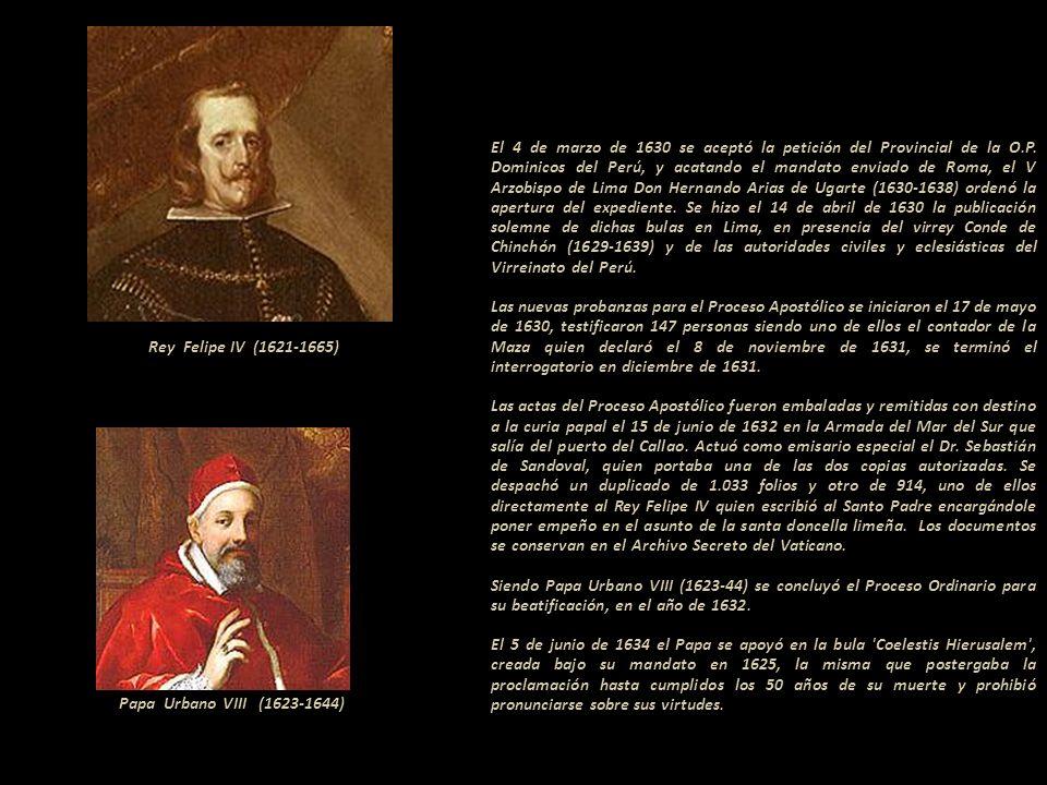 El 4 de marzo de 1630 se aceptó la petición del Provincial de la O. P