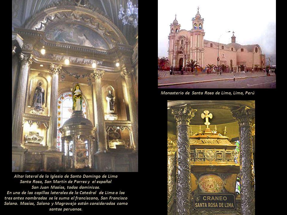 Monasterio de Santa Rosa de Lima, Lima, Perú