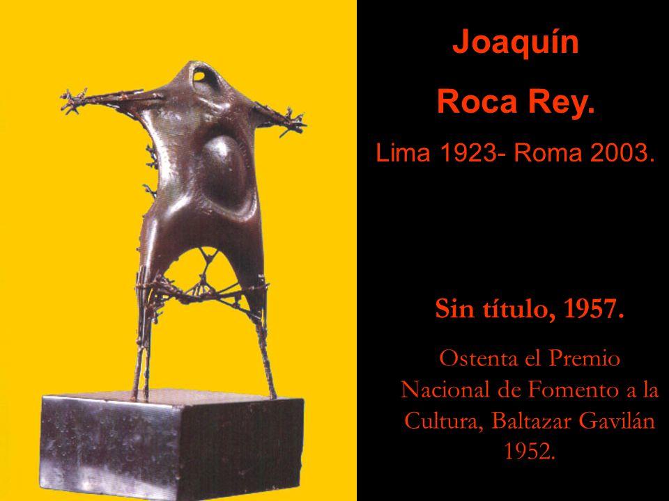 Joaquín Roca Rey. Sin título, 1957. Lima 1923- Roma 2003.