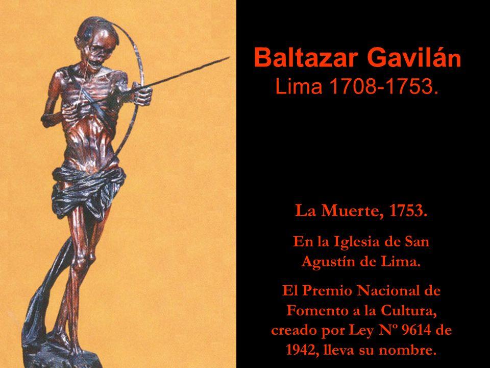 Baltazar Gavilán Lima 1708-1753.