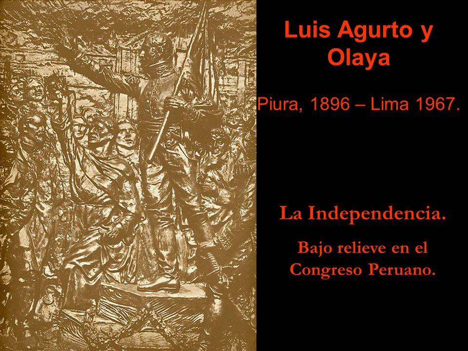 Bajo relieve en el Congreso Peruano.