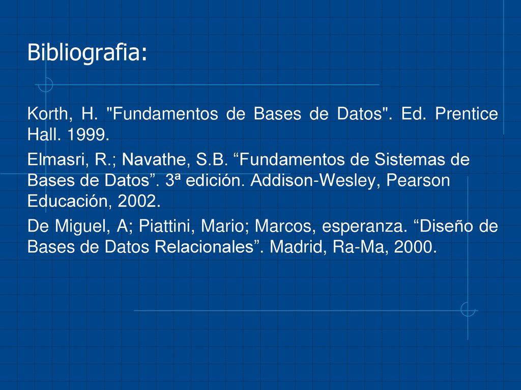 BASE DE DATOS INTRODUCCION. - ppt descargar