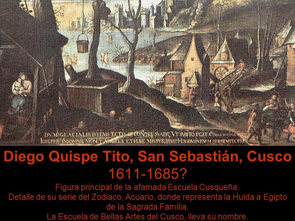 Diego Quispe Tito, San Sebastián, Cusco 1611-1685
