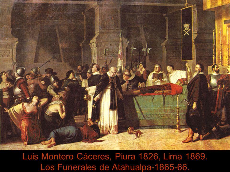 Luis Montero Cáceres, Piura 1826, Lima 1869