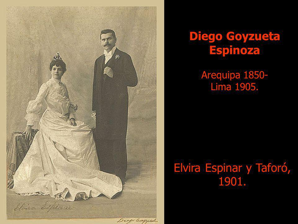 Diego Goyzueta Espinoza Arequipa 1850- Lima 1905.