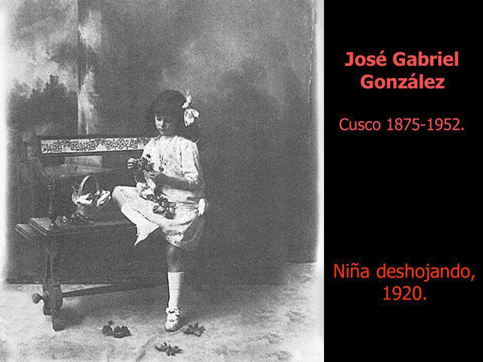 José Gabriel González Cusco 1875-1952.