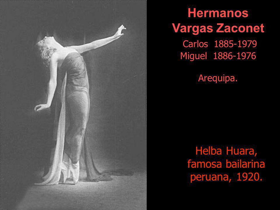 Helba Huara, famosa bailarina peruana, 1920.
