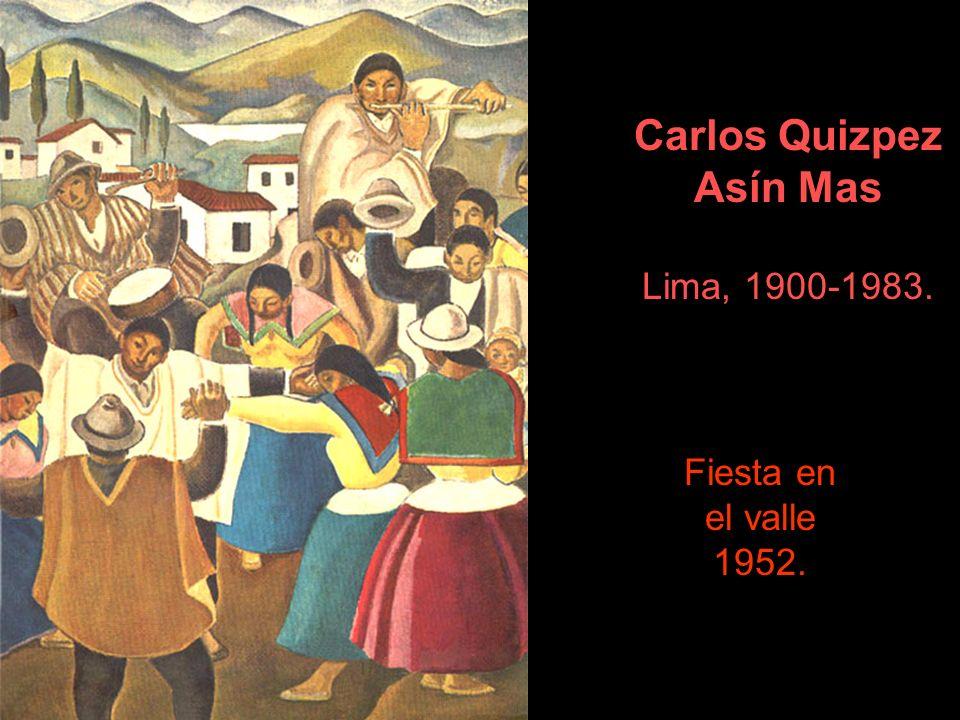 Carlos Quizpez Asín Mas Lima, 1900-1983.