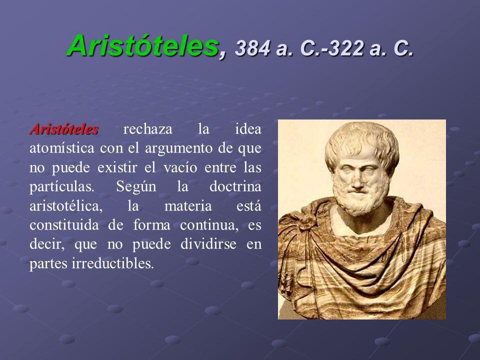 Aristóteles, 384 a. C.-322 a. C.