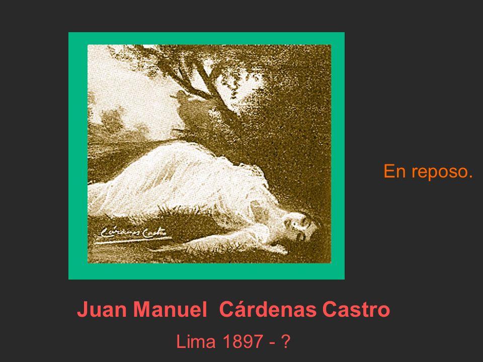 Juan Manuel Cárdenas Castro Lima 1897 -