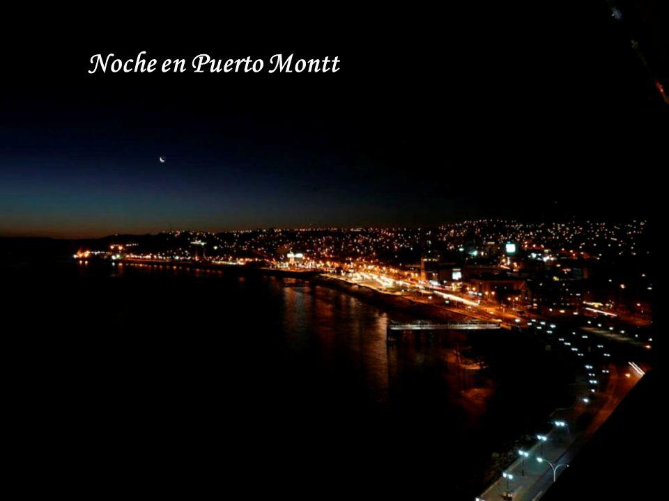 Noche en Puerto Montt