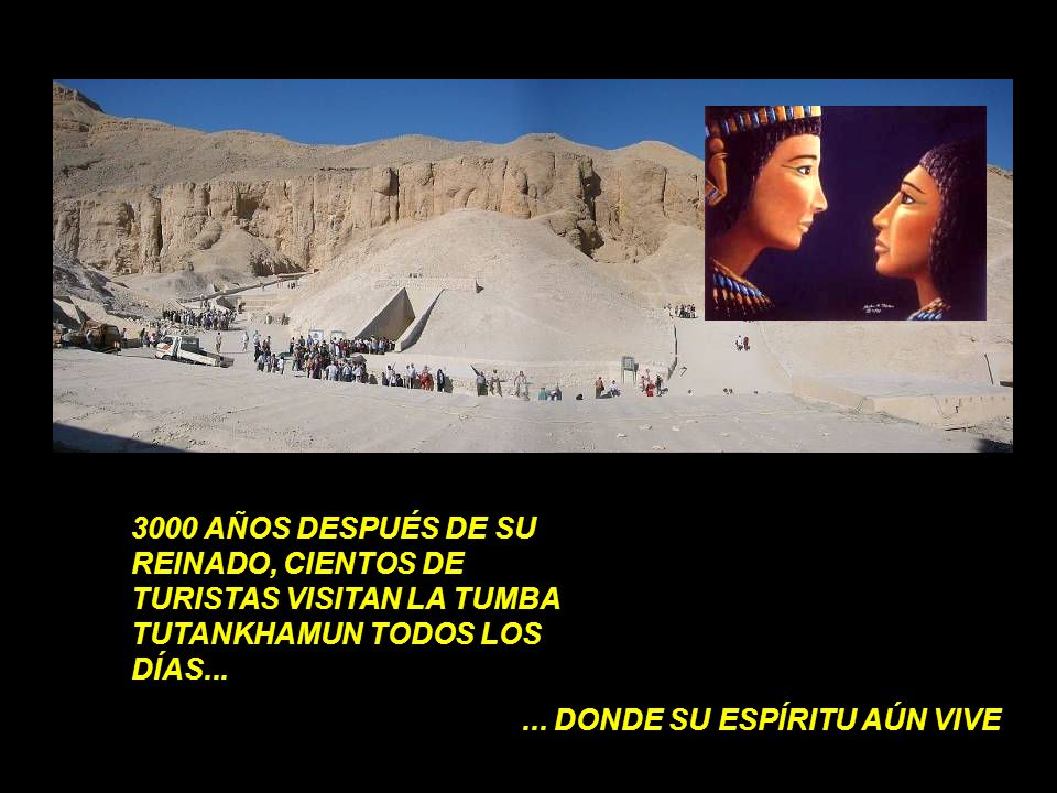 3000 AÑOS DESPUÉS DE SU REINADO, CIENTOS DE TURISTAS VISITAN LA TUMBA TUTANKHAMUN TODOS LOS DÍAS...