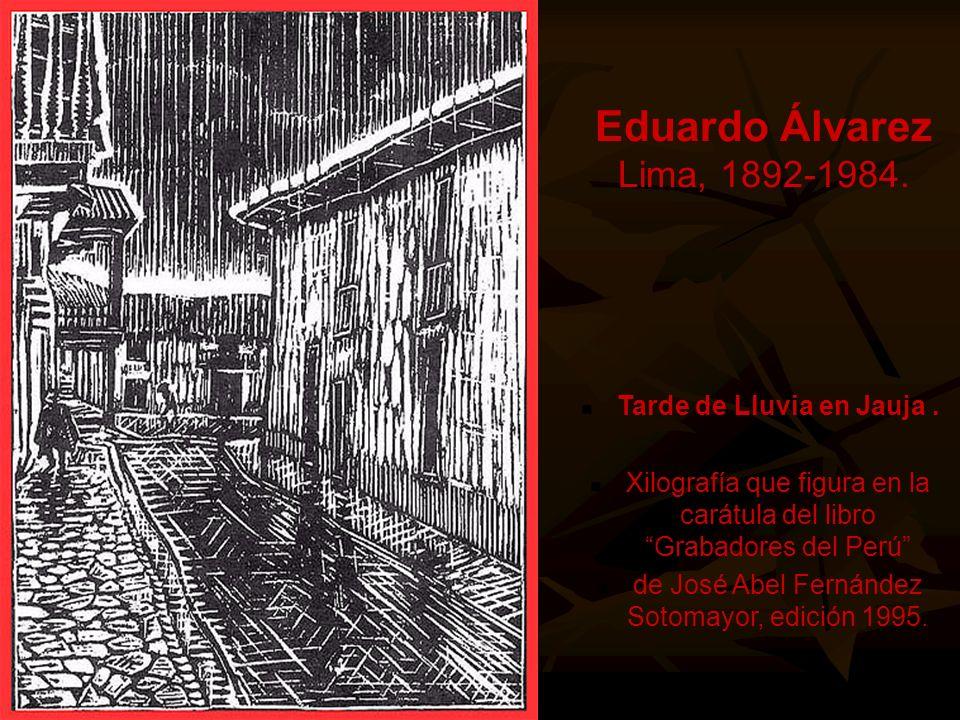 Eduardo Alvarez Eduardo Álvarez Lima, 1892-1984.