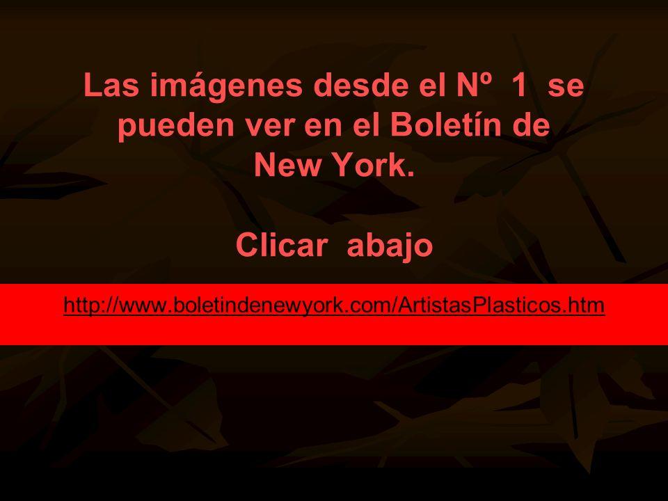Las imágenes desde el Nº 1 se pueden ver en el Boletín de New York