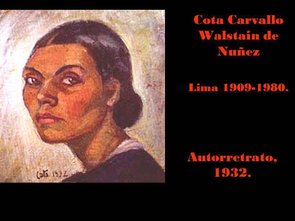 Cota Carvallo Walstain de Nuñez Lima 1909-1980.