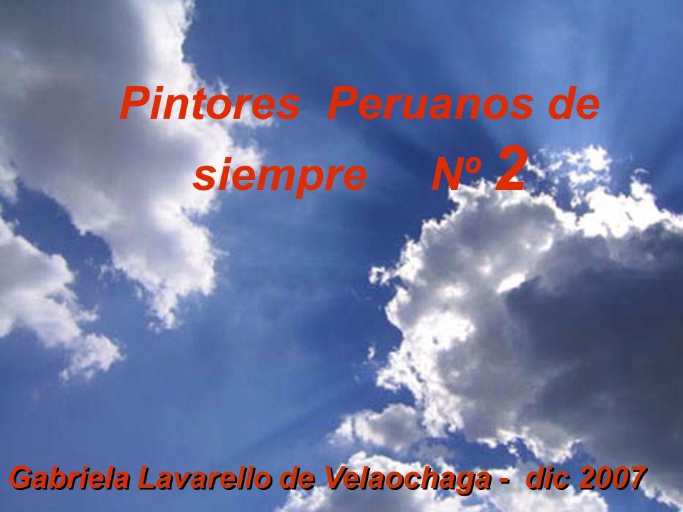 Pintores Peruanos de siempre Nº 2