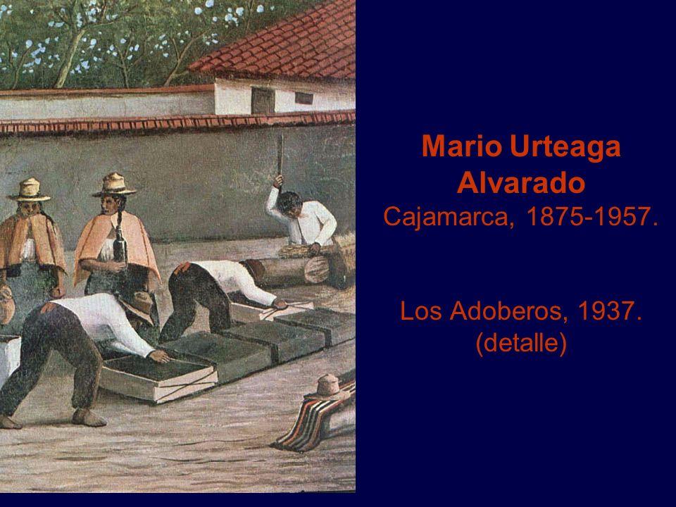 Mario Urteaga Alvarado Cajamarca, 1875-1957. Los Adoberos, 1937
