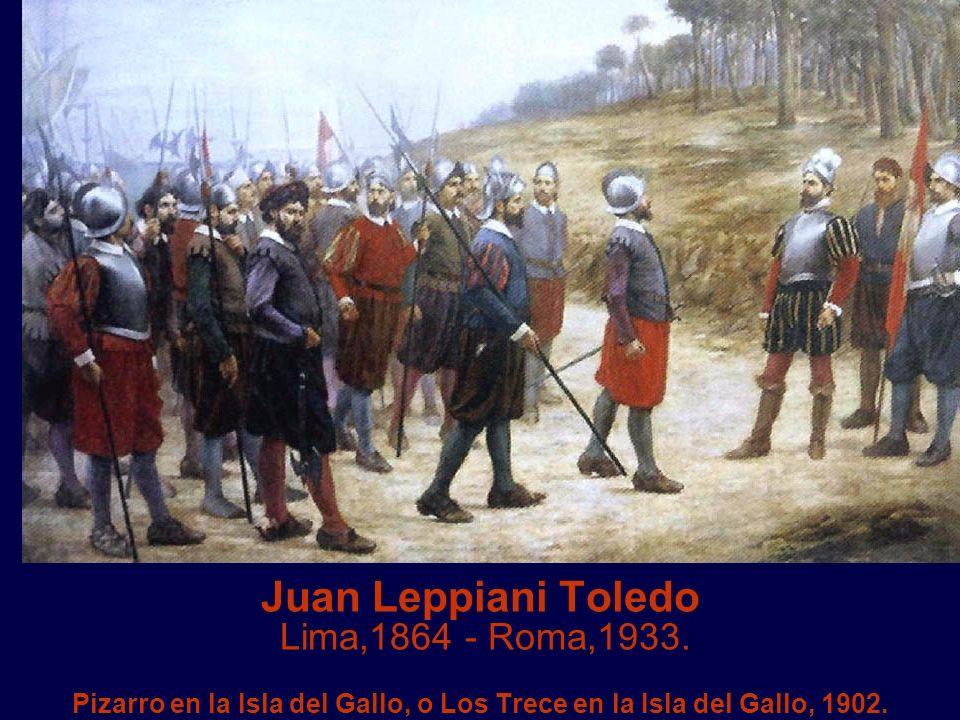 Juan Leppiani Toledo Lima,1864 - Roma,1933