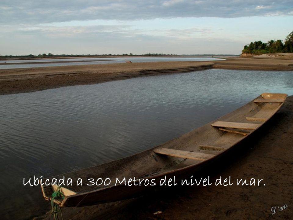 Ubicada a 300 Metros del nivel del mar.
