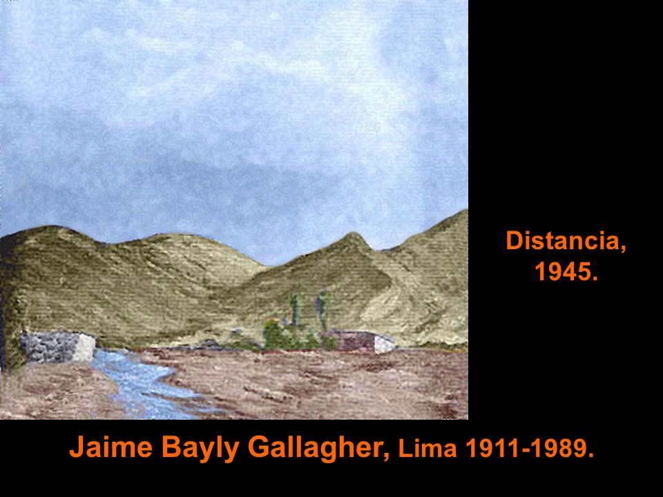 Jaime Bayly Gallagher, Lima 1911-1989.