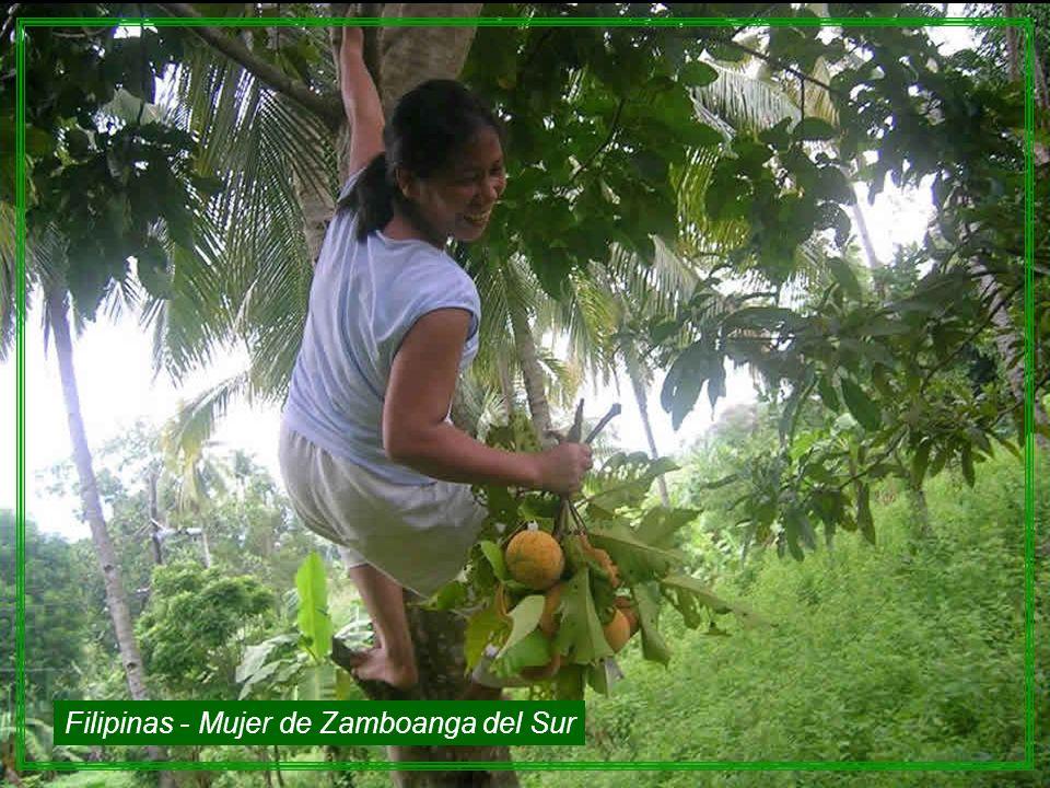 Filipinas - Mujer de Zamboanga del Sur
