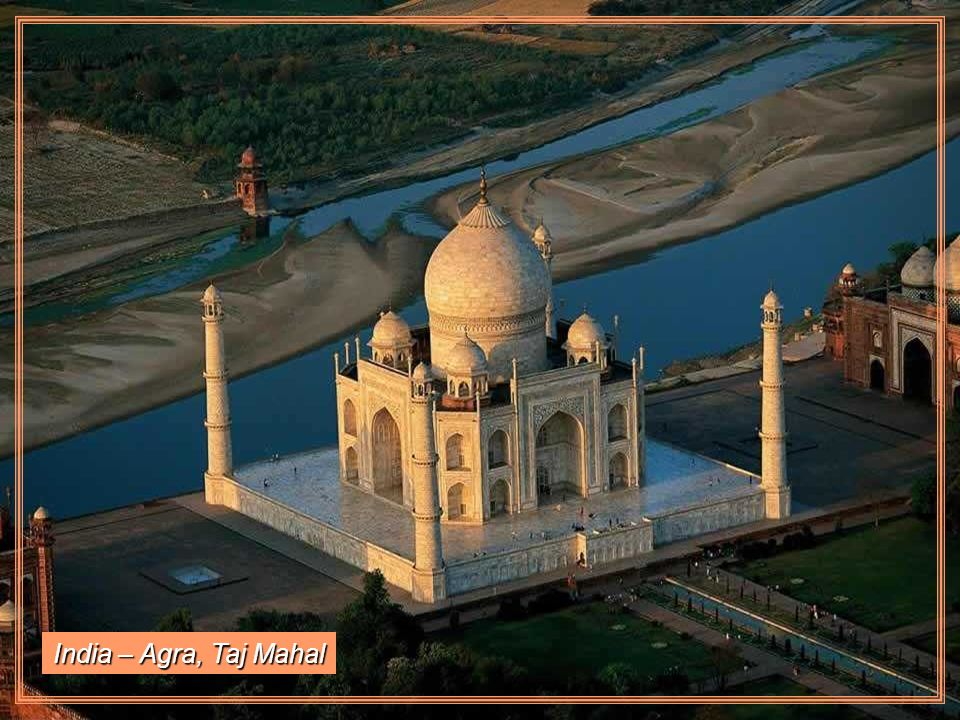 India – Agra, Taj Mahal