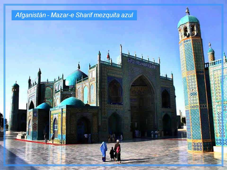 Afganistán - Mazar-e Sharif mezquita azul