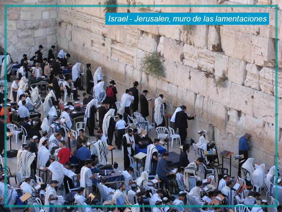 Israel - Jerusalen, muro de las lamentaciones