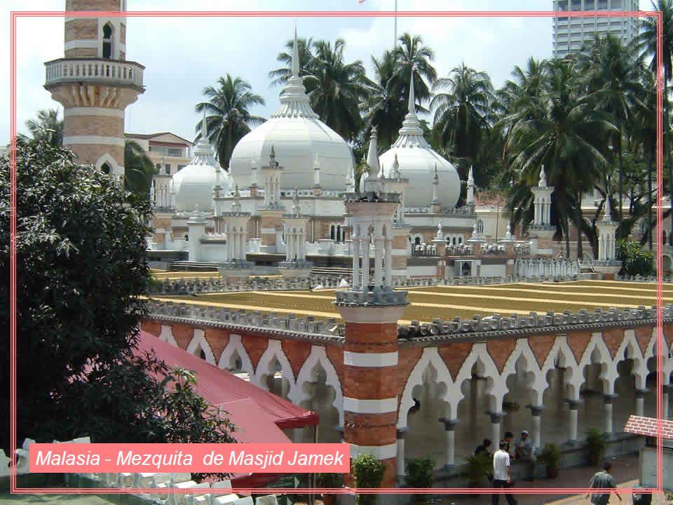 Malasia - Mezquita de Masjid Jamek