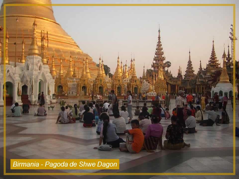 Birmania - Pagoda de Shwe Dagon