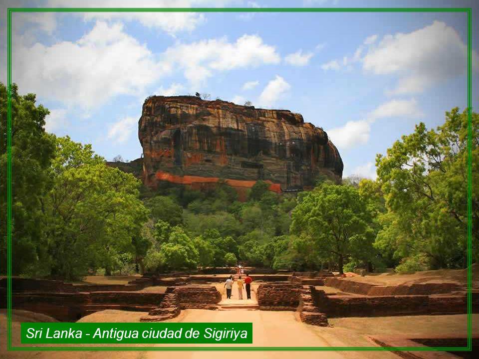 Sri Lanka - Antigua ciudad de Sigiriya