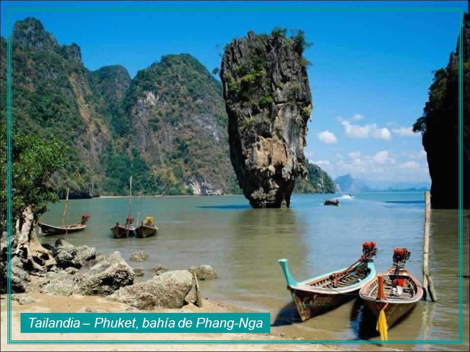 Tailandia – Phuket, bahía de Phang-Nga
