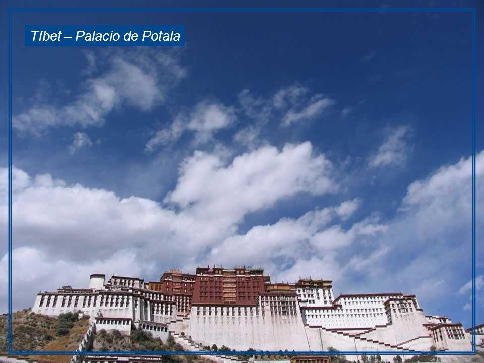 Tíbet – Palacio de Potala