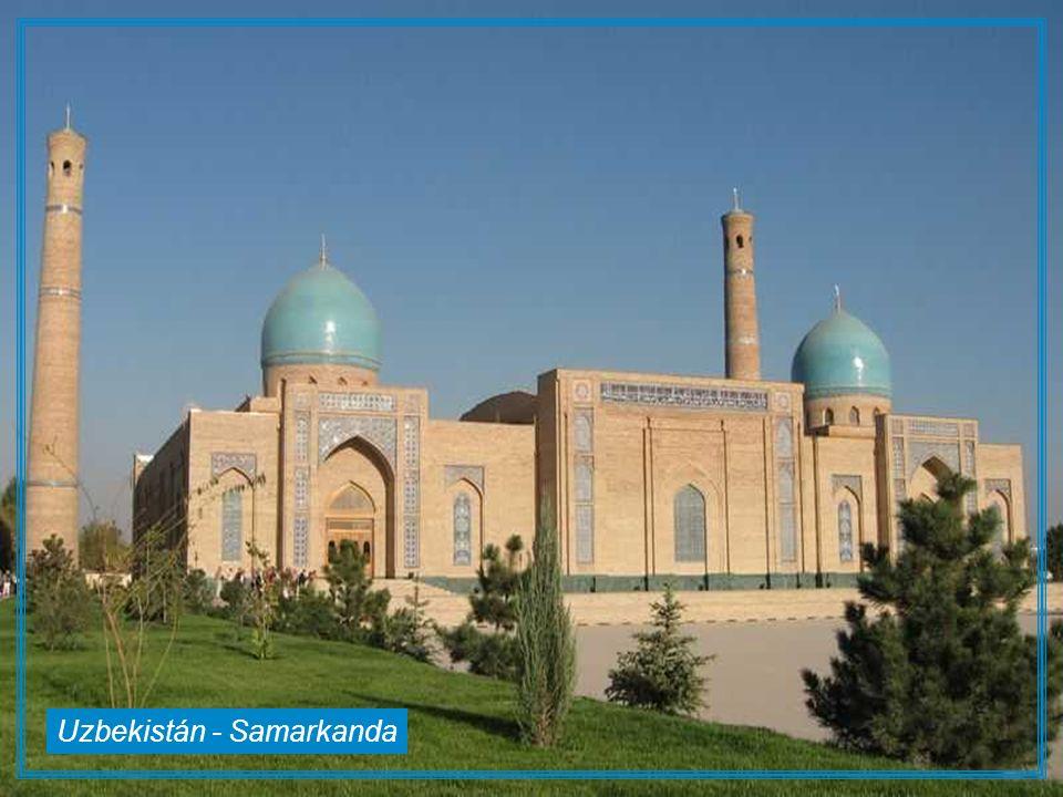 Uzbekistán - Samarkanda