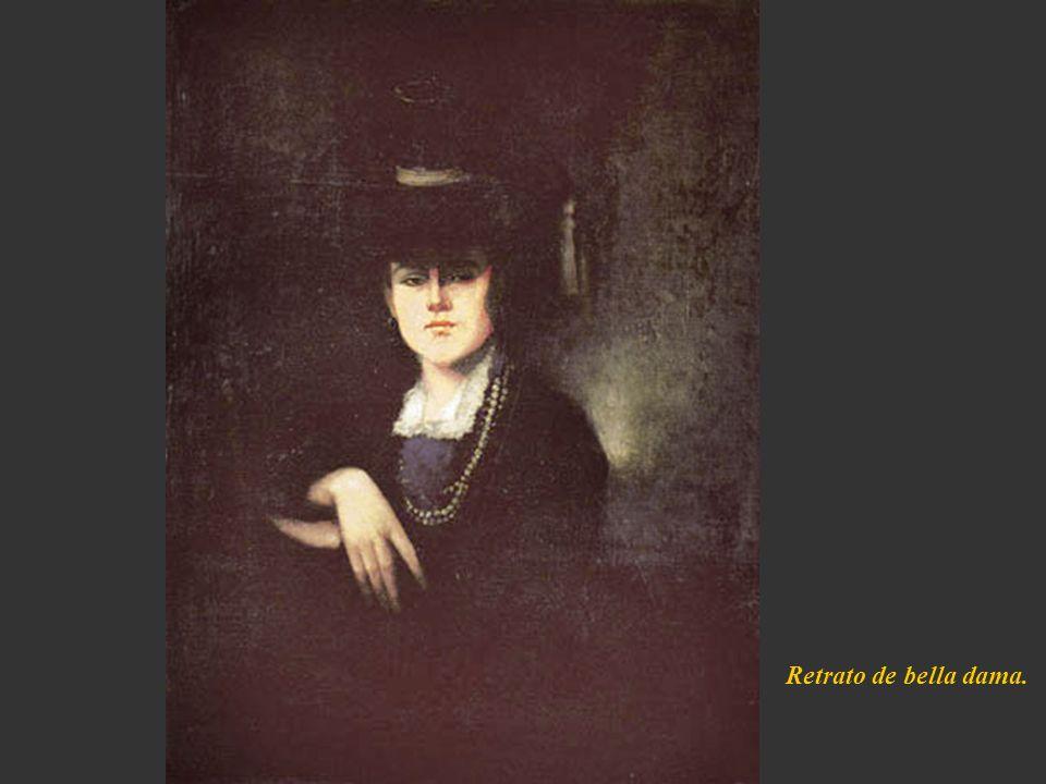 Retrato de bella dama.