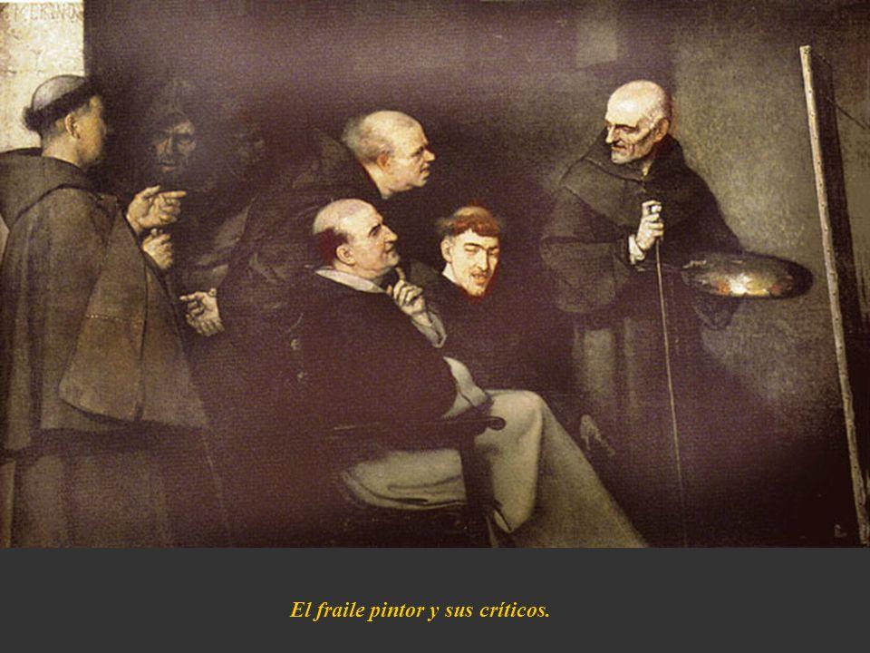 El fraile pintor y sus críticos.